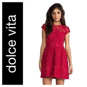 NWOT Dolce Vita Winsor Organza Lace Dress